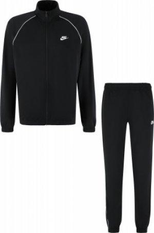 Костюм мужской Sportswear, размер 46-48 Nike. Цвет: черный