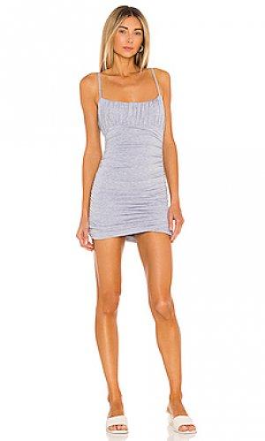 Платье juliana Lovers + Friends. Цвет: серый