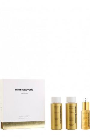 Набор-люкс Sublime Gold для питания и восстановления Miriamquevedo. Цвет: бесцветный