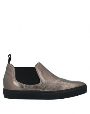 Низкие кеды и кроссовки MALÌPARMI. Цвет: бронзовый