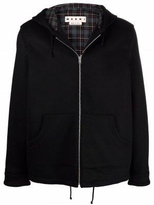 Куртка с капюшоном Marni. Цвет: черный