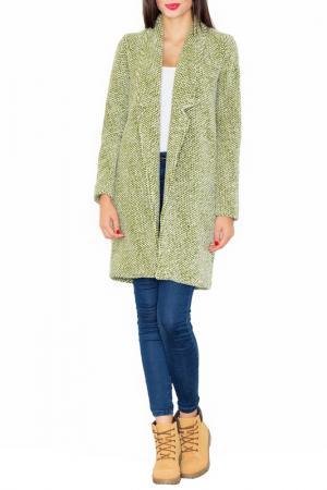 Пальто Figl. Цвет: green