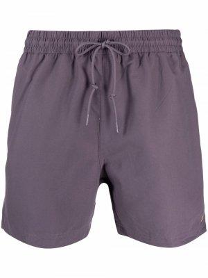 Плавки-шорты Chase с вышитым логотипом Carhartt WIP. Цвет: фиолетовый