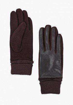 Перчатки Flioraj. Цвет: коричневый
