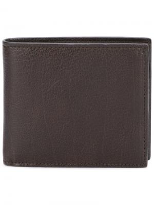 Складной бумажник Boudin Officine Creative. Цвет: коричневый