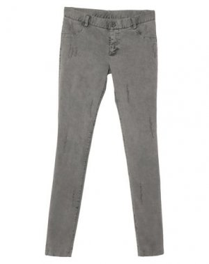 Джинсовые брюки 10SEI0OTTO. Цвет: светло-серый