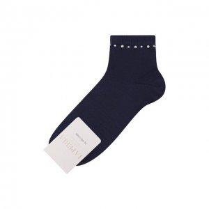 Хлопковые носки La Perla. Цвет: синий
