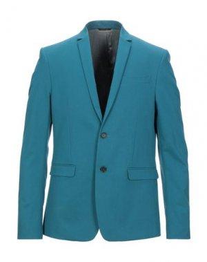 Пиджак PATRIZIA PEPE. Цвет: бирюзовый