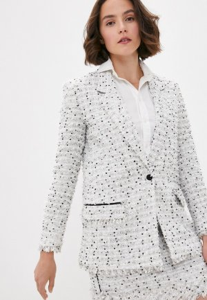 Пиджак Karl Lagerfeld. Цвет: бежевый