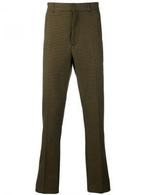 Классические брюки в ломаную клетку Bottega Veneta