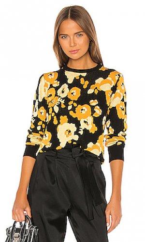 Пуловер peonie Kenzo. Цвет: желтый