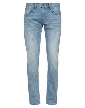 Джинсовые брюки BROOKS BROTHERS. Цвет: синий