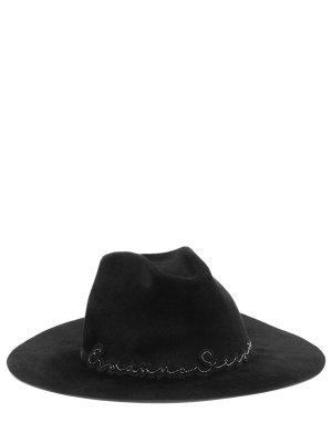 Шляпа из меха кролика ERMANNO SCERVINO
