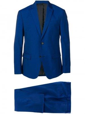 Классический костюм-двойка Calvin Klein. Цвет: синий