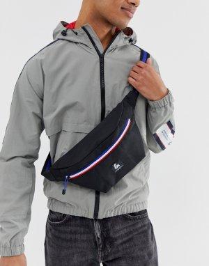 Черная сумка-кошелек с контрастной молнией -Черный Jack & Jones