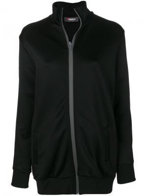 Куртка на молнии Jo No Fui. Цвет: черный