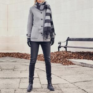 Пальто Audrina B.YOUNG. Цвет: светло-серо-коричневый