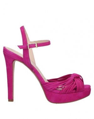 Сандалии PEDRO MIRALLES. Цвет: розовато-лиловый