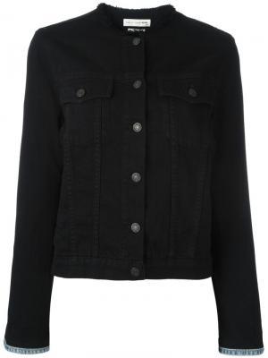 Джинсовая куртка Rag & Bone. Цвет: чёрный