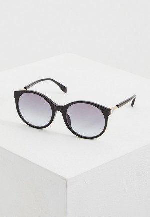 Очки солнцезащитные Fendi FF 0362/F/S 807. Цвет: черный