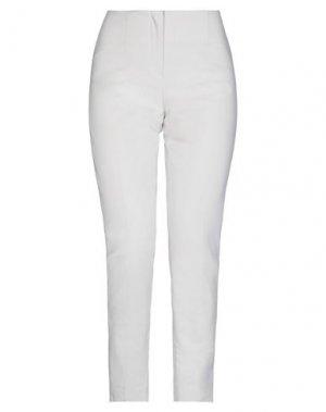 Повседневные брюки LES COPAINS. Цвет: слоновая кость