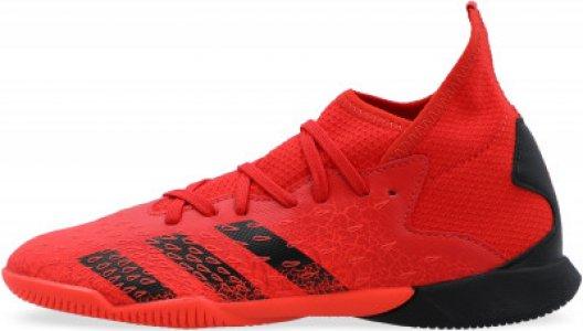 Бутсы для мальчиков adidas Predator Freak .3 IN J, размер 36.5. Цвет: красный