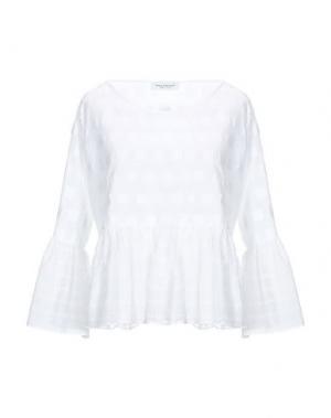 Блузка ANNA RACHELE. Цвет: белый