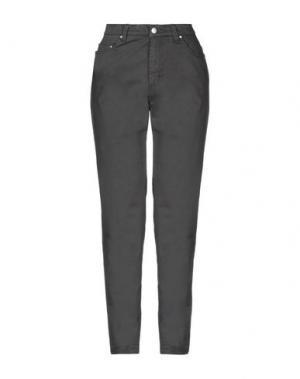 Повседневные брюки TAVIANI. Цвет: свинцово-серый