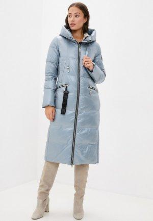 Куртка утепленная Britt. Цвет: голубой