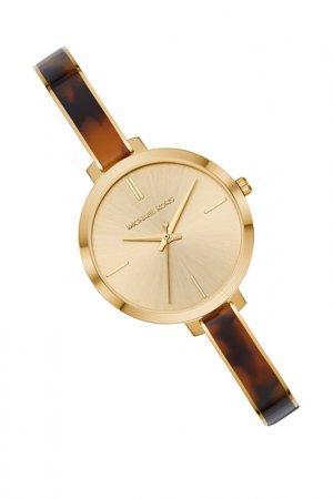Часы наручные Michael Kors. Цвет: желтое золото