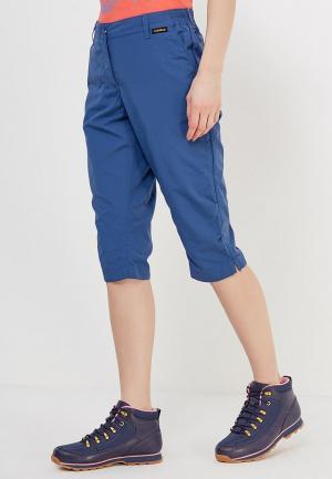 Бриджи Jack Wolfskin KALAHARI 3/4 PANTS WOMEN. Цвет: синий