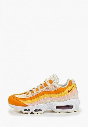 Кроссовки Nike AIR MAX 95 WOMENS SHOE. Цвет: оранжевый