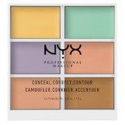 Палетка для коррекции цвета Professional Makeup 3C Palette - Color Correcting Concealer NYX