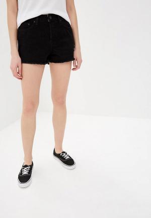 Шорты джинсовые Roxy. Цвет: черный