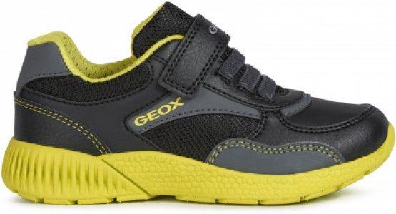 Кроссовки для мальчиков J Sveth Boy, размер 33 Geox. Цвет: черный