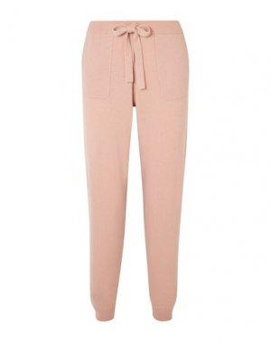 Повседневные брюки ALLUDE. Цвет: пудровый