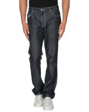 Джинсовые брюки ADOLFO DOMINGUEZ. Цвет: синий