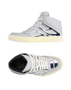 Высокие кеды и кроссовки ALEJANDRO INGELMO. Цвет: светло-серый