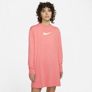 Платье с длинным рукавом Sportswear - Розовый Nike