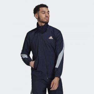 Олимпийка Sportswear Mesh Pop adidas. Цвет: белый