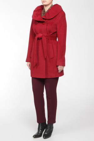 Пальто LANITA. Цвет: красный