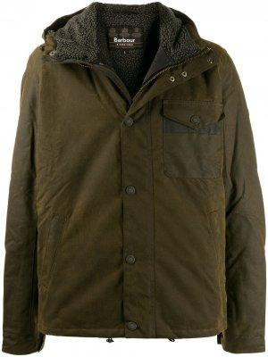 Вощеная куртка B.INTL Barbour. Цвет: зеленый