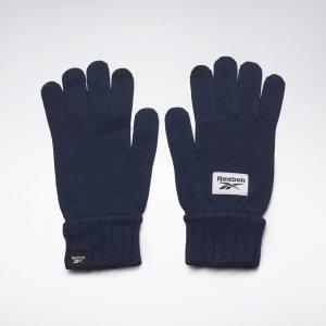 Перчатки Active Foundation Knit Reebok. Цвет: vector navy