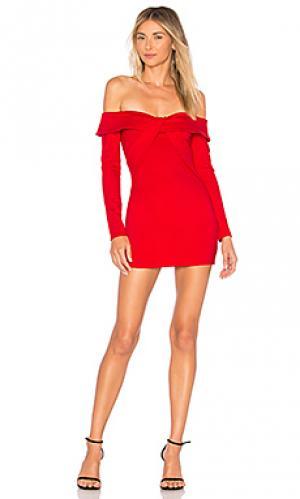 Мини платье raquel ale by alessandra. Цвет: красный