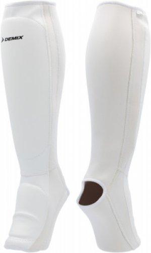 Защита голени и стопы Demix. Цвет: белый