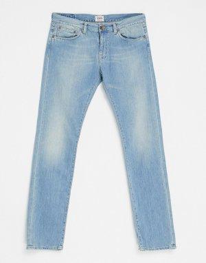 Синие узкие джинсы ED-80 Shuttle-Голубой Edwin