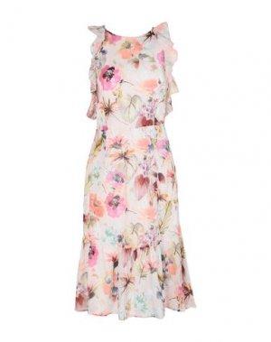 Платье до колена TWENTY EASY by KAOS. Цвет: светло-розовый