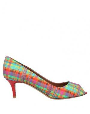 Туфли EMPORIO ARMANI. Цвет: зеленый