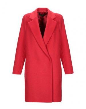 Пальто SPACE STYLE CONCEPT.. Цвет: красный