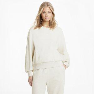 Толстовка HER Crew Neck Womens Sweater PUMA. Цвет: белый